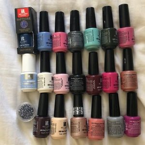 Other - 18 red carpet manicure gel polishes (never used)